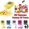 Mini Game Tetris Machine 26 in 1 Child Portable Puzzle Game Toy Game Keychain