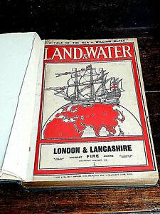 Land & Water Magazine Bound Volume October 1917 - March 1918. 6 months complete