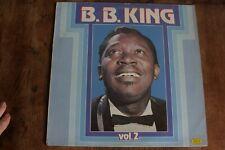 BB KING VOL 2 VINYL LP