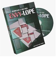 Paul Harris Presents Envylope (DVD+Gimmick) Card Magic Trick Illusions Close up