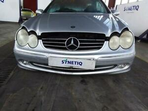 FRONT BUMPER MERCEDES CLK C209 2002 TO 2009 COUPE SILVER & WARRANTY - 11747866