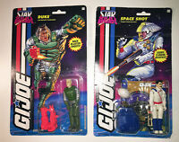 GI Joe Star Brigade 1994 Series 13 Two Carded Figures #21 Duke #23 Space Shot