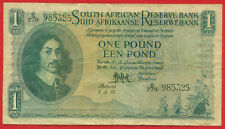 New ListingSouth Africa 1957 - 1 Pound - World paper money currency banknotes