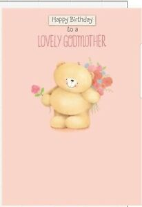 Hallmark Forever friends Godmother Birthday Card