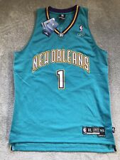 Authentic New Orleans Hornets Baron Davis Reebok Jersey Size XL New With Tags