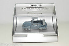 CAR COLLECTION IXO ? OPEL OLYMPIA CABRIOLET 1951-1952 BLUE MINT BOXED