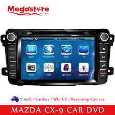 "7"" Car DVD GPS Navigation Head Unit For MAZDA CX-9 2007-2013 support Bose system"