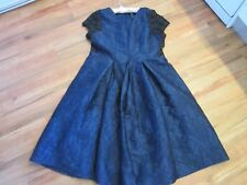 GORGEOUS, EVENING/OCCASION DRESS, NAVY BLUE , SIZE 22 BY T.S. NWT RRP $299.95