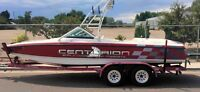 "2 Centurion Boats Vinyl Decals LARGE 52"" Sticker Ski Wakeboard Tribal"