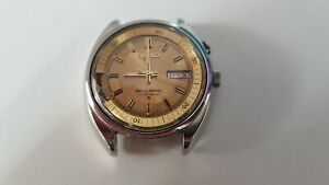 Vintage SEIKO BELLMATIC 4006-6040 automatic alarm day date watch working