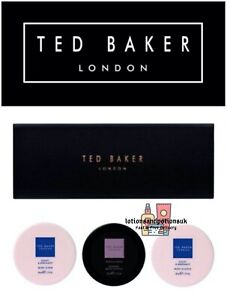 Ted Baker SCRUB AND SOUFFLES TRIO Ladies Christmas Gift Set 2021
