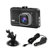 "3.0"" HD Vehicle 1080P Car Dashboard Camera Video Recorder Dash Cam G-Sensor Set"