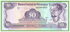 NICARAGUA - 50 CORDOBAS - 1979 - P-136  - UNC - REAL FOTO