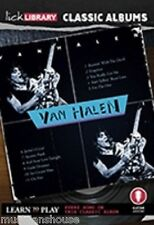 LICK LIBRARY Learn to Play VAN HALEN CLASSIC ALBUMS LESSON ERUPTION Guitar DVD