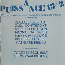 Puissance 13+2; Claude Angelo Catharsis Alain Markus campo Roger Mason Musea ne CD