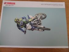 Yamaha Off Road Competition Motorcycle Sales Brochure 2017