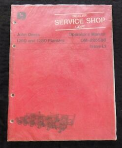 GENUINE JOHN DEERE 1971 1260 1280 PLANTER OPERATORS MANUAL MINT SEALED
