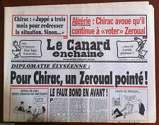 Le Canard Enchaîné du 25/10/1995; OM-Valenciennes, Tapie....