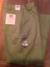 Jos A Bank Easy Care Twill 32 X 30 Olive100% Cotton