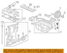 HONDA OEM Engine Parts-Oil Pan Drain Plug 90009PH1000