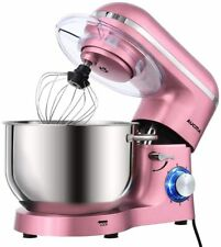 Aucma Stand Mixer,6.5-Qt 660W 6-Speed Tilt-Head Food Mixer, Kitchen Electric Mix