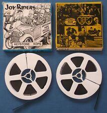 VINTAGE SUPER 8 FILMS MACK SENNETT KEYSTONE COPS JOY RIDERS & WIFE & AUTO