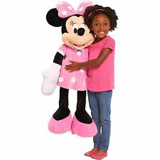 """Disney Minnie Mouse 36"""" Soft Plush Pillow Pal-Minnie Mouse Plush-New with Tags!"""