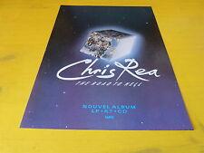 CHRIS REA - Publicité de magazine / Advert THE ROAD TO HELL !!!!!!!