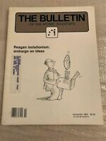 Bulletin of the Atomic Scientists Vol 38 November 1982 Reagan Isolationism