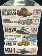 Tamiya Tank and Zero Battle Plastic Model Vintage rare from JAPAN F/S