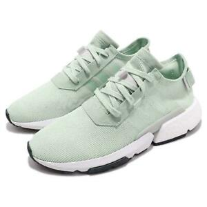 adidas POD-S3.1 BOOST Green White Women Running Shoes B37368 New Tags Size 6