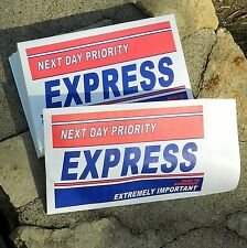 Priority Express Marketing Envelopes 6 x 9 500/lot Direct Mail Branding