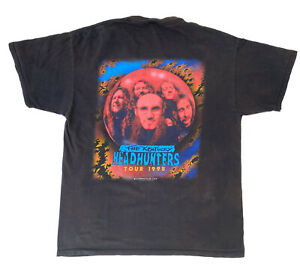 The Kentucky Headhunters Tour 1998 Vintage T-Shirt Delta Tag Size XL Band Tee