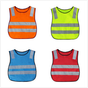 GOGO Kids Running Safety Vest Reflective Vest with Elastic Waistband for Outdoor
