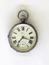 Antique 1912 American Waltham Sterling Dennison Pocket Watch