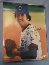 Original 1980 Chicago Cubs Bruce Sutter 19x25in. Baseball 7Up Poster MINT