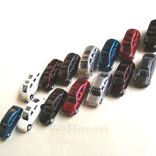 100 pcs Z Scale 1:220 painted Model Cars Z gauge
