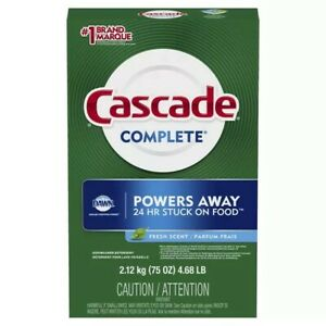 Cascade Complete All in One dish detergent 60 oz