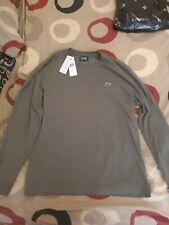 Lacoste long sleeve t shirt khaki size 6