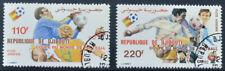 Djibouti 1982 WK Voetbal - Michel 325-26  gebruikt (0725-1)
