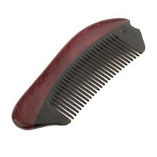 Handmade Wood Natural Ox Horn Anti-Static Hair Massage Comb Without Handle