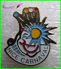 Pin's Carnaval de Nice avec un Clown / Joker le roi du défilé  #1856