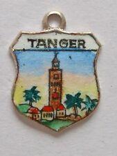 Tanger, Tanger, Maroc Vintage silver enamel Travel charme