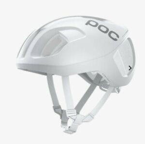 POC Ventral Spin Hydrogen White Matt 56-61 Size Large 300 Grams Road Helmet NWT