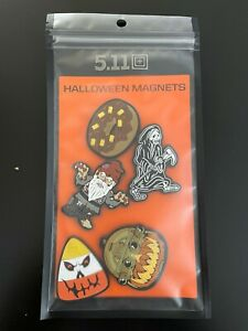 NEW 5.11 Tactical Halloween Magnet 5 Pack (NOT PATCHES) 97158