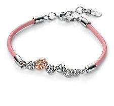 Adjustable Sterling Silver Fine Diamond Bracelets