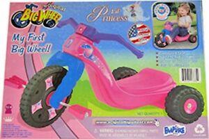 "Trike The Original My First ""Lil' Princess""  Pink Big Wheel 9"". Trike"