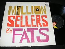 MILLION SELLERS by FATS DOMINO Imperial LP 60s era Issue Classic New Orleans R&B