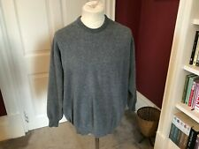 LYLE AND SCOTT LONG SLEEVE CREW NECK JUMPER 100% Pure new wool XXL