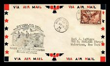 Dr Jim Stamps Havre St Pierre Rimouski Airmail First Flight Canada Cover